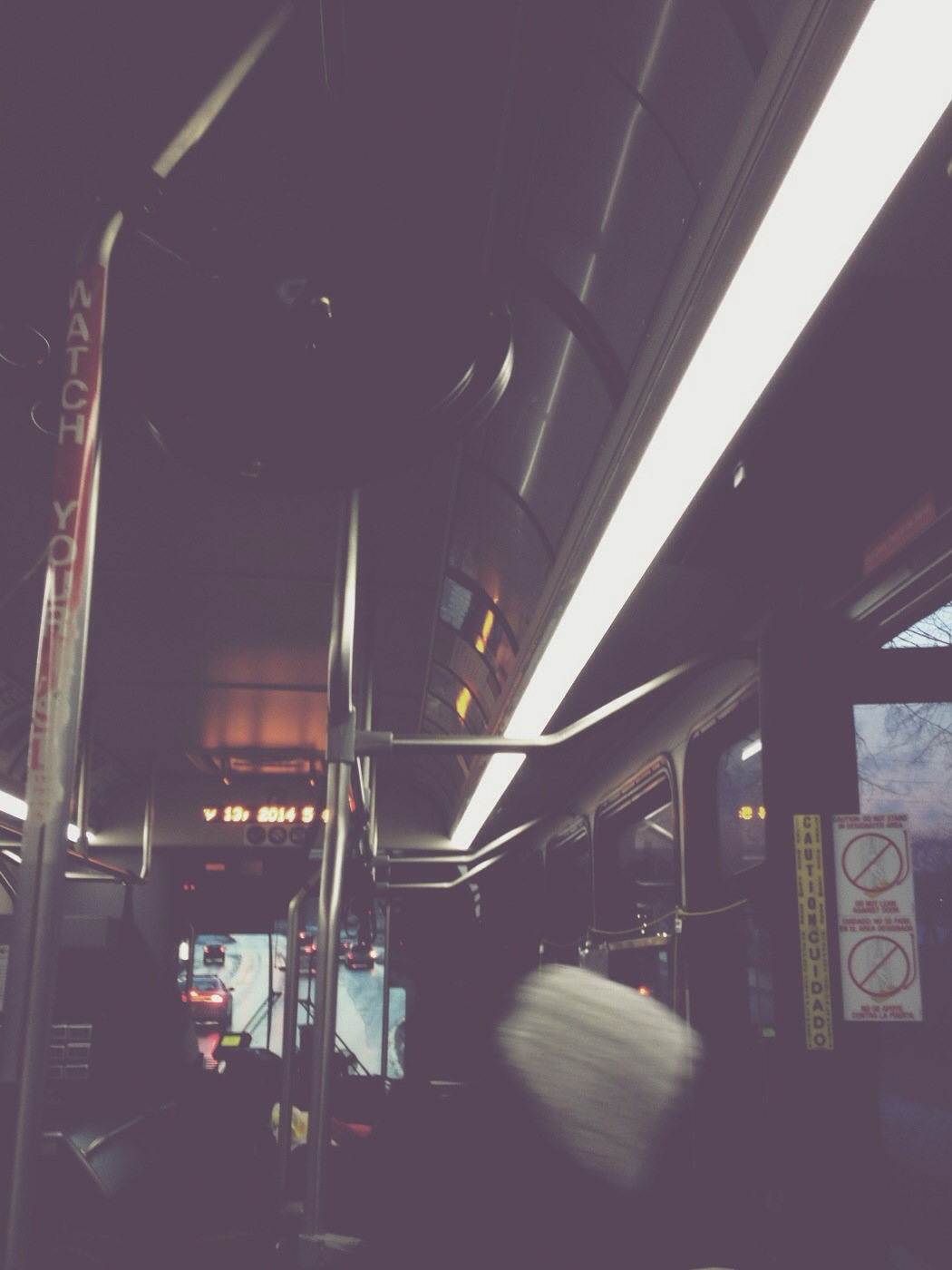 disembark via iPhone/VSCO Cam